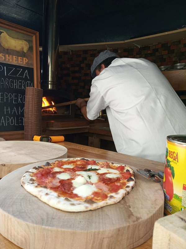 Mobile Wood-Fired Pizza Catering throughout  Kent & East Sussex.
